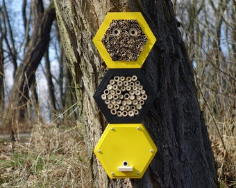 BEE HOTEL, Insect house, Mason bee home - Superiorhotel Honeybee
