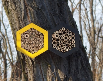 BEE HOTEL, Insect house, Mason bee home - Grandhotel Honeybee