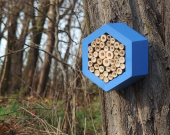 BEE HOTEL, Insect house, Mason bee home - Hotel Sailor