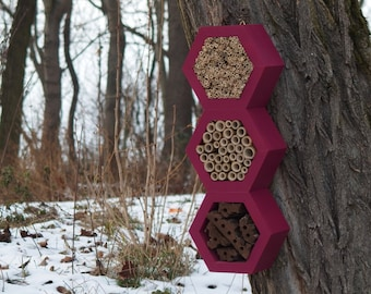 BEE HOTEL, Insect house, Mason bee home - Superiorhotel Burgundy