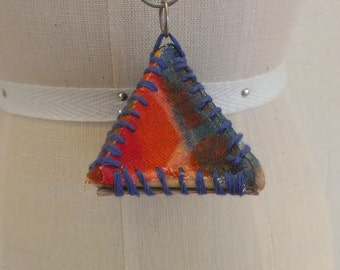 Pyramid Pendant with Chain