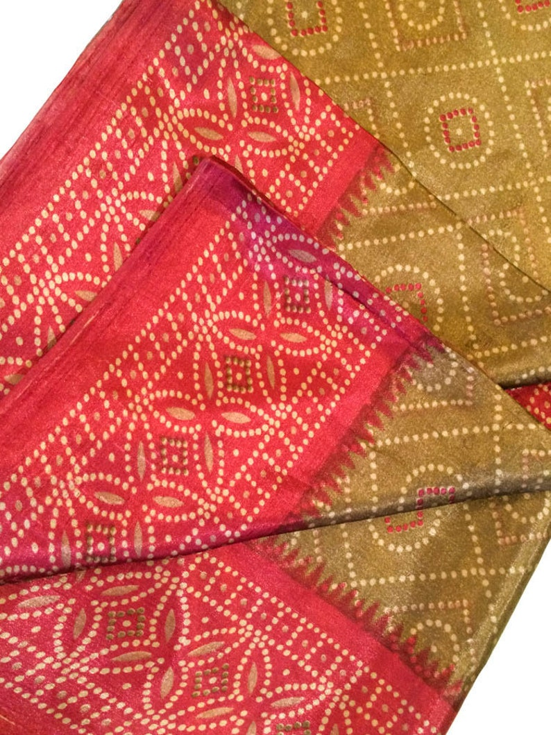 Vintage Indian Art Silk Sari,Printed Fabric,Recycled Saree,Home decor,India Wedding Dress Woman Bridal Heavy Saree,Party Festival ASS1027