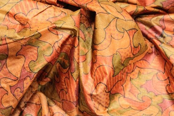Vintage Pure Tussar Silk Sari Woven Border Handwoven Saree Green and Yellow Handmade Tossor Saree Free Shipping TSS1010
