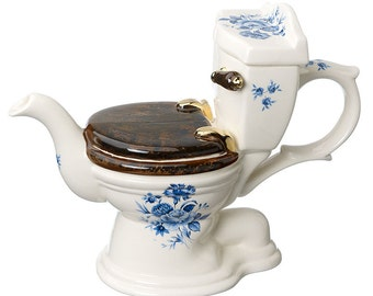 The 'At Your Convenience' WC Teapot