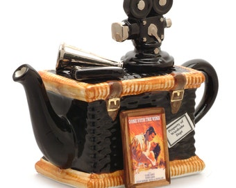 The 'Movie Basket ' Full Size Teapot