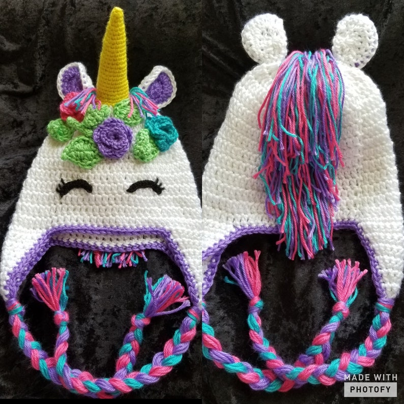 Crochet Unicorn Hat Pattern  7cce0a03f13