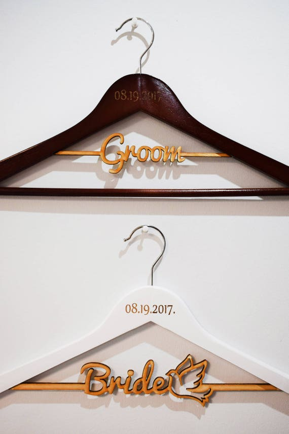 Groom Hanger Personalized Wedding Hanger Gift for Groom Groomsmen Hanger Groomsmen Gift Bridal Groom Hanger