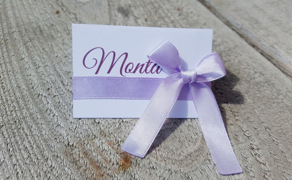Cartes de mariage table tente, tentes marque-places, lot de 50 cartes de nom, nom teintée de cartes, cartes d'escorte tente, décoration de table de mariage, cartes d'escorte