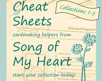 Cheat Sheets (1-3) Starter Collection: Instant Digital Download