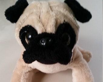 Webkins Pug Dog, plush dog, stuffed animal