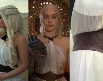 0e7498cce51 Daenerys Targaryen Yunkai Belt (BELT ONLY) Game of Thrones Cosplay Khaleesi  Costume (Waist Measurements Required. Dress NOT included)