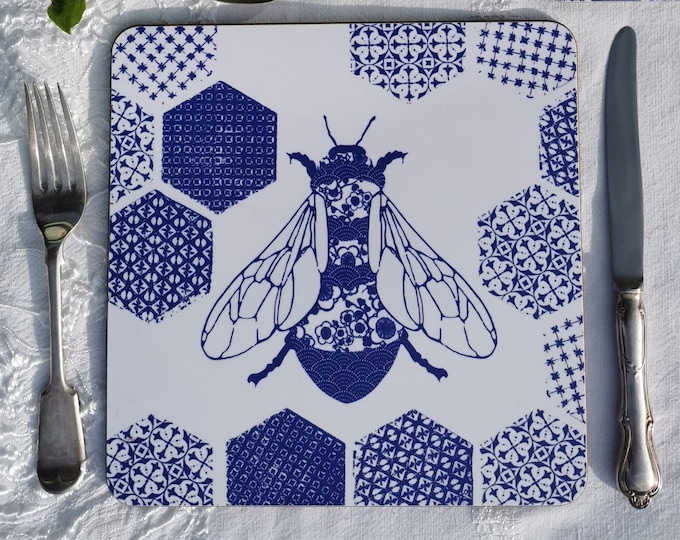 Bee Placemats set of four,