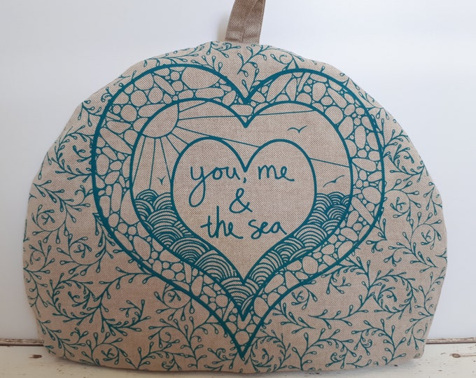 You, Me & the Sea Tea Cosy