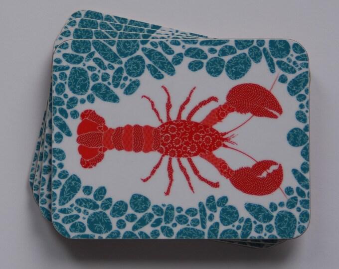 Lobster coaster set