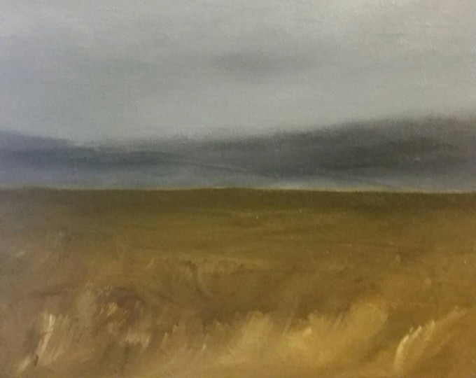 Featured listing image: Midwest Prairie - Oil Painting