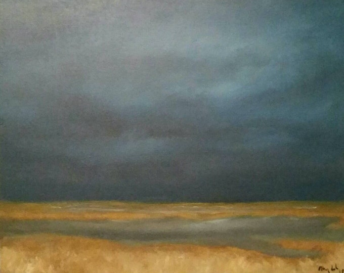 Featured listing image: Low Country Evening - Oil Painting