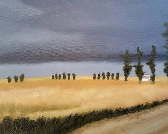 Hidden - Oil Painting