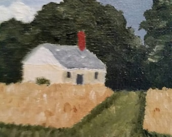 Homestead - Oil Painting - Daily Painting