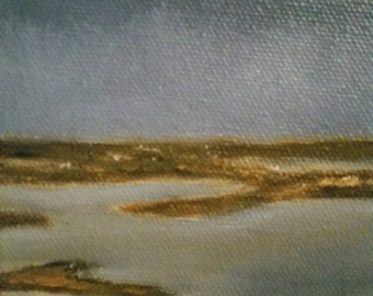 The Shallows - Oil Painting - Mini