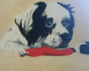 Custom Pet Portrait - Work In Progress - Oil Painting - Please do NOT buy this listing..I will create one just for you