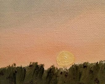 Reaching - Oil Painting - Mini
