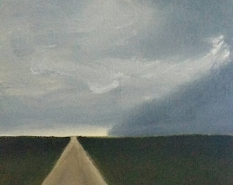 Into The Storm - Oil Painting