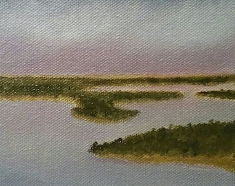 Mobile Bay - Oil Painting