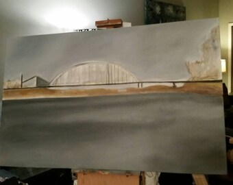 Des Arc Bridge - Work In Progress