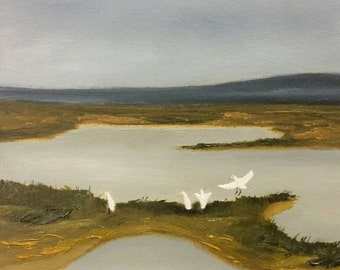 Bayou Buffet - Work In Progress - Oil Painting