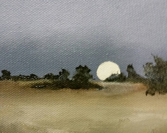 First Frost - Oil Painting - Mini