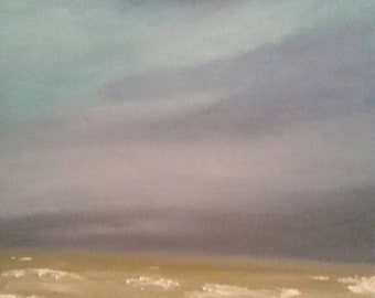Storm On The Horizon - Oil Painting - Seascape