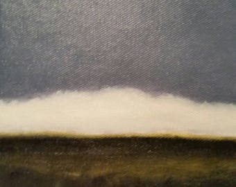 Cloud Bank - Oil Painting