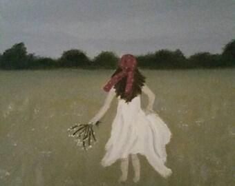 Bohemia - Oil Painting - Boho