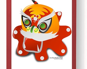 My Pet Dragon PhotoArt Poster