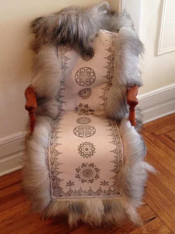 Skinnfell Sheepskin Chair, Seat or Bench Cushion