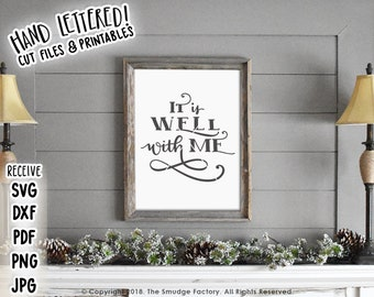 It Is Well With My Soul Svg Etsy
