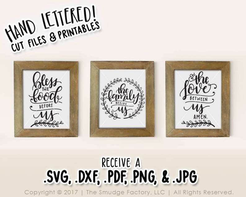 graphic regarding Bless the Food Before Us Printable named Bless the Food stuff Just before Us, Bible Verse SVG, Printable Wall Artwork, Evening meal Prayer, Eating Place Printable, Bible Verse Print, Prayer Printable