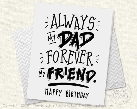 Dad S Birthday Card