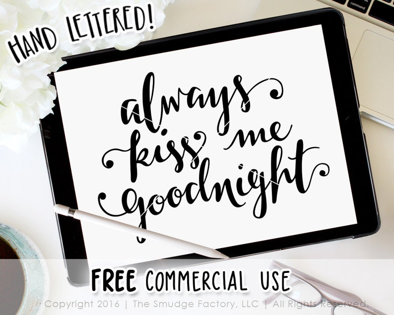 Always Kiss Me Goodnight Baby SVG Cut File, Love, Silhouette Cricut SVG  Cutting File, Baby's Room Nursery Decor, Instant Download • DIY Sign