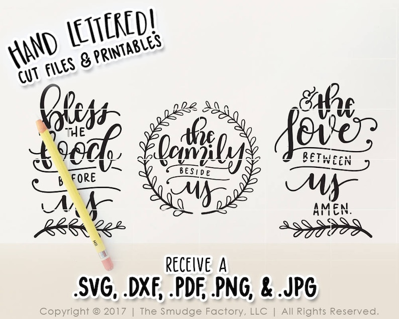 image relating to Bless the Food Before Us Printable named Bible Verse SVG, Bless the Foods Ahead of Us, Printable Wall Artwork, Evening meal Prayer, Eating House Printable, Bible Verse Print, Prayer Printable