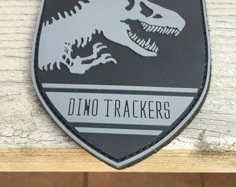 Jurassic World Dino trackers pvc patch collab wirh Dani S. (Collectors item)