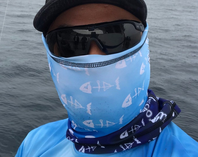 Deluxe honeybadgerbaits neck gaiter variety of color