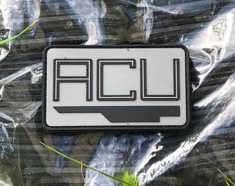 Kids style acu hat patch not acu trooper uniform based