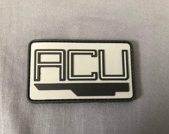 Dogs  ACU hat patch (NSA) not for acu trooper uniform