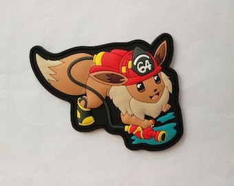 Eeveelutions uses hydropump- pvc morale patch -