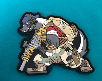 The ghost badger aka nobad pvc patch