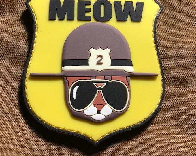 Meow Trooper 2 pvc patch