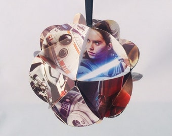 Star Wars Ornament, BB8 ornaments, R2D2 gifts, Rey, Finn, Collectable ornaments, The Force Awakens gift, New Star Wars characters, Kids gift