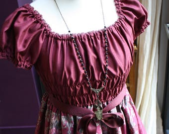 Gothic Shield Decadent Opera Necklace