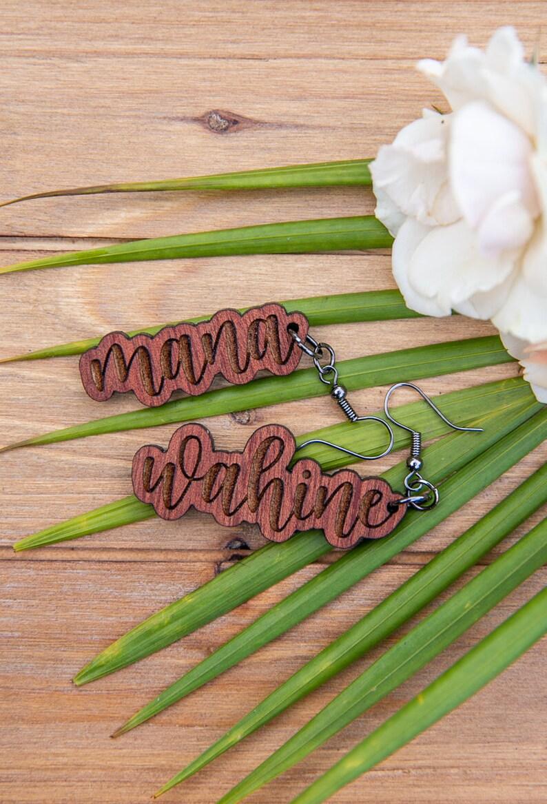 Mana Wahine earrings